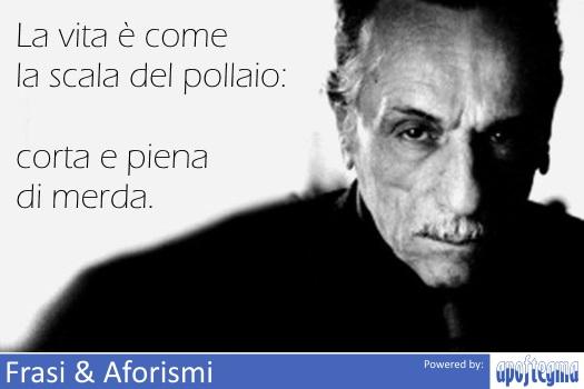La Vita è Come La Scala Del Pollaio Corta E Frase Di Eduardo De